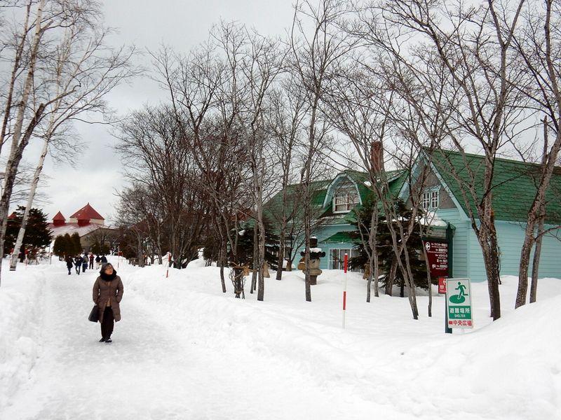 冬のニッカ余市工場
