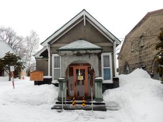 冬のニッカ余市工場の「大日本果汁株式会社」